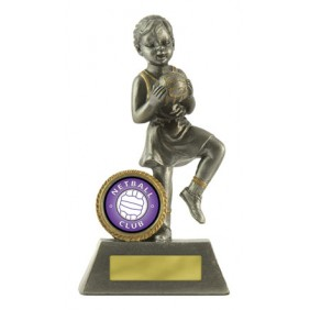 Netball Trophy 601S-8 - Trophy Land