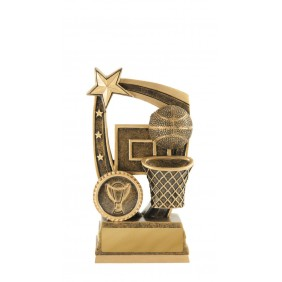 Basketball Trophy 633-7A - Trophy Land