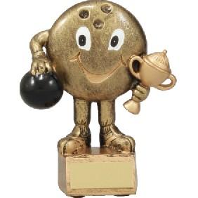 Ten Pin Bowling Trophy A1152A - Trophy Land