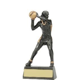 Netball Trophy A1203A - Trophy Land