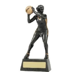 Netball Trophy A1203B - Trophy Land