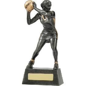 Netball Trophy A1203C - Trophy Land