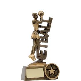 Netball Trophy A1221A - Trophy Land