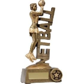 Netball Trophy A1221C - Trophy Land