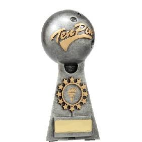 Ten Pin Bowling Trophy A1253C - Trophy Land