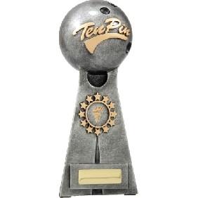 Ten Pin Bowling Trophy A1253E - Trophy Land