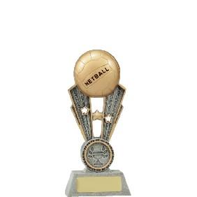 Netball Trophy A1403AAA - Trophy Land
