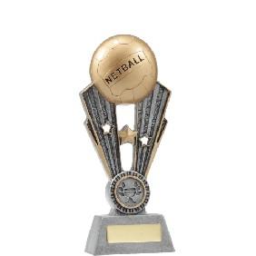 Netball Trophy A1403A - Trophy Land