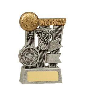 Netball Trophy A1808A - Trophy Land