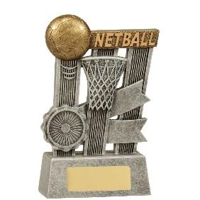 Netball Trophy A1808B - Trophy Land