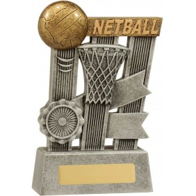 Netball Trophy A1808C - Trophy Land