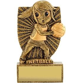 Netball Trophy A1874 - Trophy Land