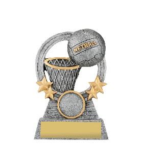 Netball Trophy A1937A - Trophy Land