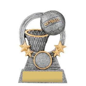Netball Trophy A1937B - Trophy Land