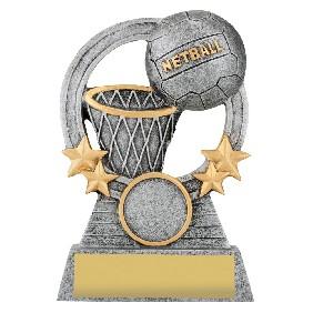 Netball Trophy A1937C - Trophy Land