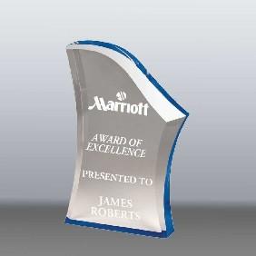 Acrylic Award AA3781MBL - Trophy Land