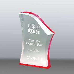 Acrylic Award AA3781MR - Trophy Land