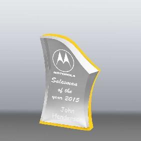 Acrylic Award AA3781SY - Trophy Land