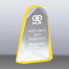 Acrylic Award AA3784LY - Trophy Land