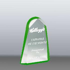 Acrylic Award AA3784SGR - Trophy Land