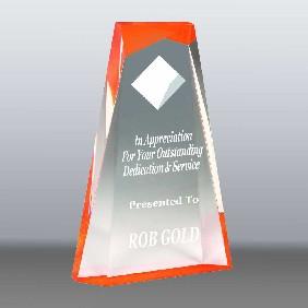 Acrylic Award AA3821LOR - Trophy Land