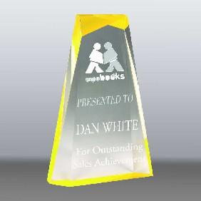Acrylic Award AA3821LY - Trophy Land