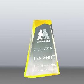 Acrylic Award AA3821SY - Trophy Land