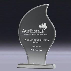 Acrylic Award AC141L - Trophy Land