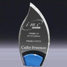 Acrylic Award AC994L - Trophy Land