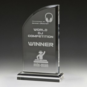 Acrylic Award ACT02B - Trophy Land