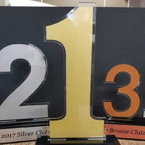 Custom Awards Gallery Acrylic Numbers - Trophy Land