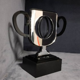 Custom Awards Gallery Acrylic Spinner Cup Trophy - Trophy Land
