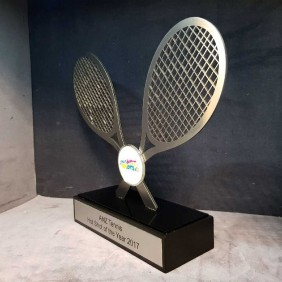 Custom Awards Gallery Acrylic Tennis Trophy - Trophy Land
