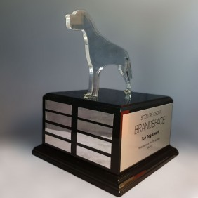 Custom Awards Gallery Acrylic Top Dog Award - Trophy Land
