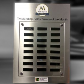 Custom Awards Gallery Aluminium Honour Board - Trophy Land