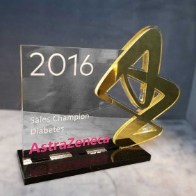 Custom Awards Gallery AstraZeneca Sales Award - Trophy Land