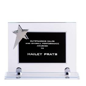 Glass Award BKSTAR1A - Trophy Land