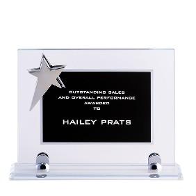 Glass Award BKSTAR1C - Trophy Land