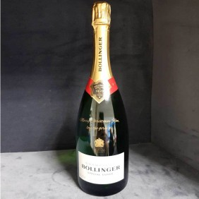 Engraving Gallery Bollinger Bottle - Trophy Land