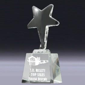 Crystal Award CC582L - Trophy Land