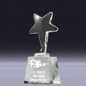 Crystal Award CC582M - Trophy Land