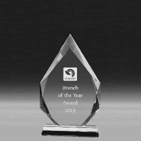 Crystal Award CC647C - Trophy Land