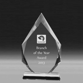 Crystal Award CC647D - Trophy Land