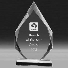 Crystal Award CC647E - Trophy Land