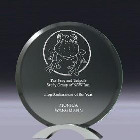 Glass Award CG218 - Trophy Land