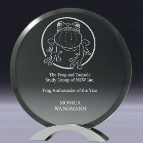 Glass Award CG220 - Trophy Land