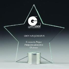Glass Award CG576 - Trophy Land