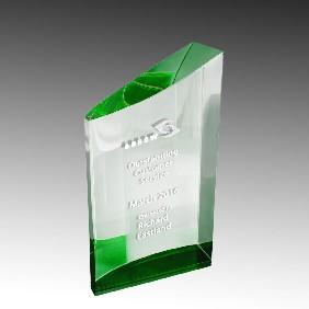 Crystal Award CK03BGN - Trophy Land