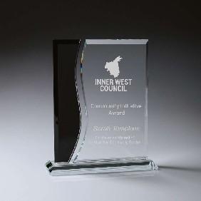 Glass Award CK215 - Trophy Land