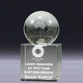 Crystal Award CN00S - Trophy Land
